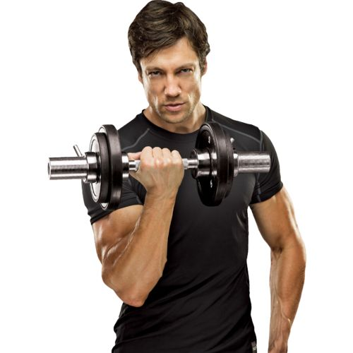 Marcy Apex Olympic Dumbbell Handles Set
