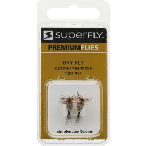Superfly™ Adams Irresistible Dry Flies 2-Pack