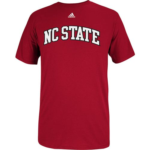 adidas™ Men's North Carolina State University Team Font T-shirt