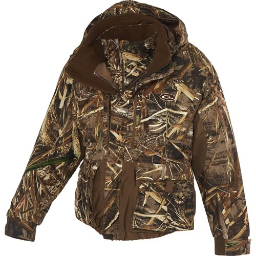 Drake Waterfowl Men's LST EQWader 3-in-1-Plus-2 Wader Coat
