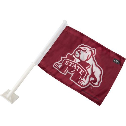 Display product reviews for Tag Express Mississippi State University Bulldogs Logo Car Flag