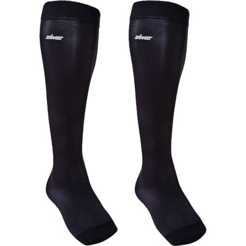 Zamst Adults' LC-1 Calf Compression Open-Toe Sleeves 2-Pack