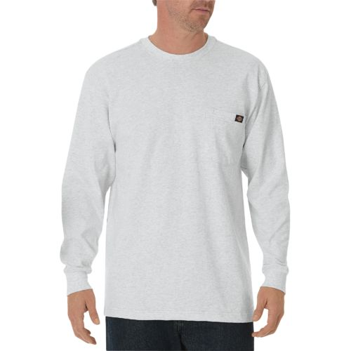 Dickies Men's Heavyweight Crew Neck Long Sleeve T-shirt