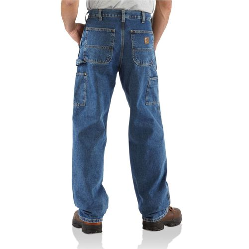 Carhartt Men's Washed Denim Work Dungaree - view number 2