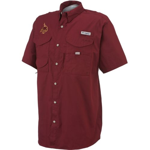 Columbia Sportswear Men's Texas State University Bonehead™ Short Sleeve Shirt