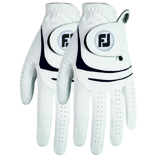 FootJoy Men's WeatherSof Left-hand Golf Gloves 2-Pack Medium