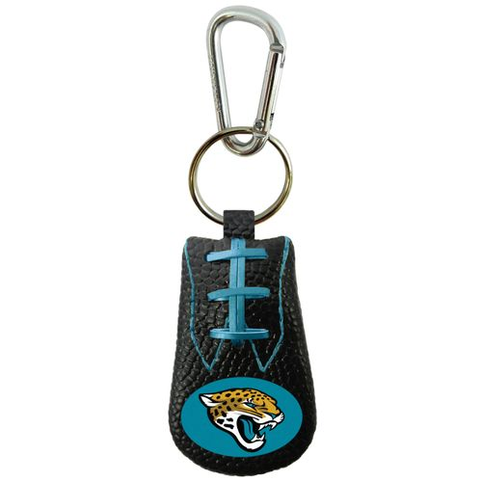 GameWear Jacksonville Jaguars Team-Color NFL Football Key Chain