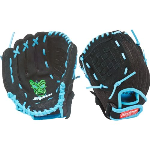 Rawlings Youth Savage Basket-Web 10 in Pitcher/Infield Glove Left-handed - view number 1