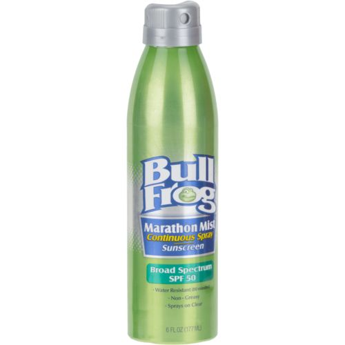 Bullfrog Marathon Mist SPF 50 Continuous Spray Sunscreen - view number 1