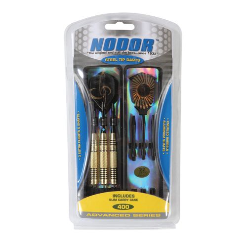 Display product reviews for Nodor® STA400 Advanced Series 22-Gram Steel-Tip Dart Set