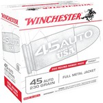 Winchester .45 ACP FMJ 230-Grain 200-round  Centerfire Pistol Ammunition - view number 1