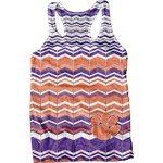 Blue 84 Juniors' Clemson University Sublimated Racerback Tank Top
