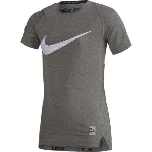 Nike Boys' Hypercool HBR Compression Short Sleeve Top