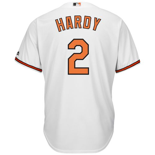 Majestic Men's Baltimore Orioles J.J. Hardy #2 Cool Base® Replica Jersey