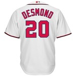Majestic Men's Washington Nationals Ian Desmond #20 Cool Base® Jersey