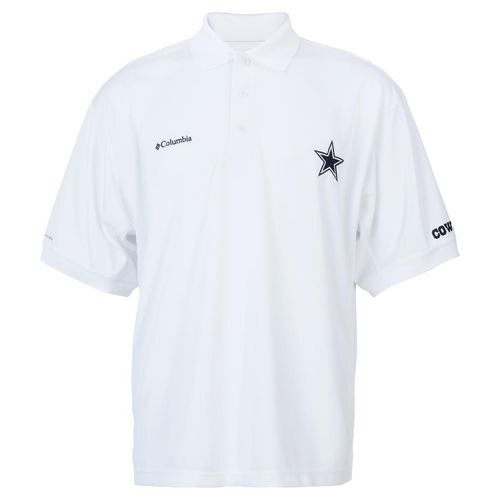 Columbia Sportswear™ Men's Dallas Cowboys PFG Performance Perfect Cast Polo Shirt