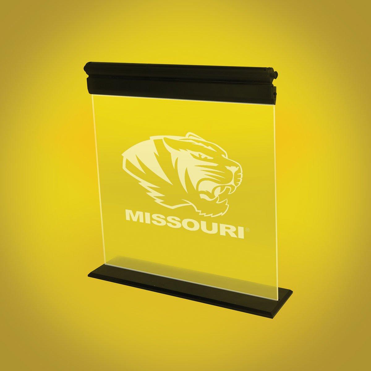 AES Optics University of Missouri Acrylic LED Light