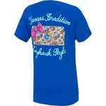 New World Graphics Women's University of Kansas Bright Bow T-shirt - view number 2