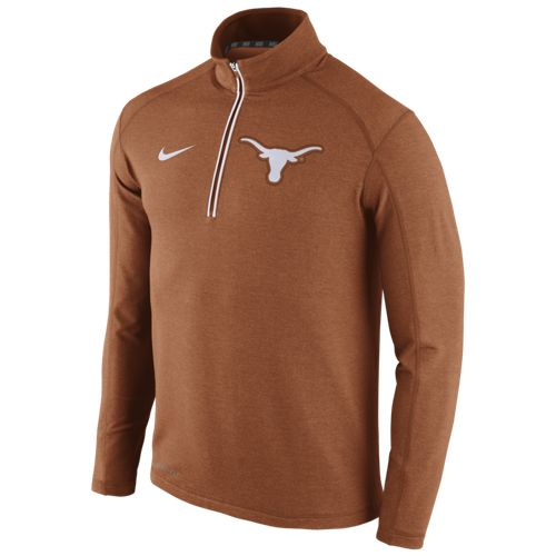 Nike™ Men's University of Texas Game Day 1/2 Zip Knit Top