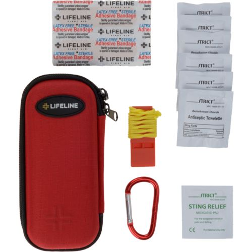 Lifeline Hard-Shell Foam Small 30-Piece First Aid Kit