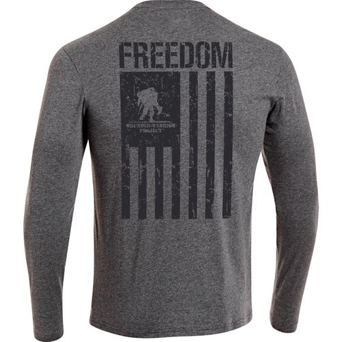 Under Armour® Men's WWP Freedom Flag Long Sleeve