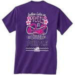 New World Graphics Women's Texas Christian University Cuter in Team T-shirt