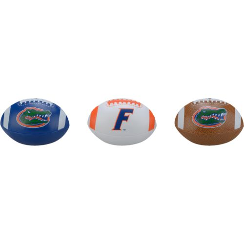 Rawlings® Boys' University of Florida 3rd Down Softee 3-Ball Football Set - view number 1