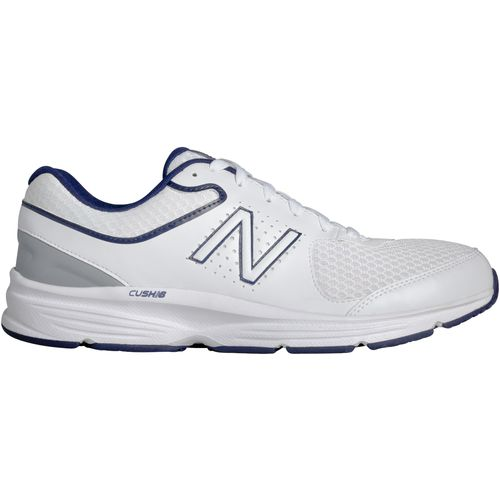 New Balance Men's 411 Walking Shoes (White/Navy)