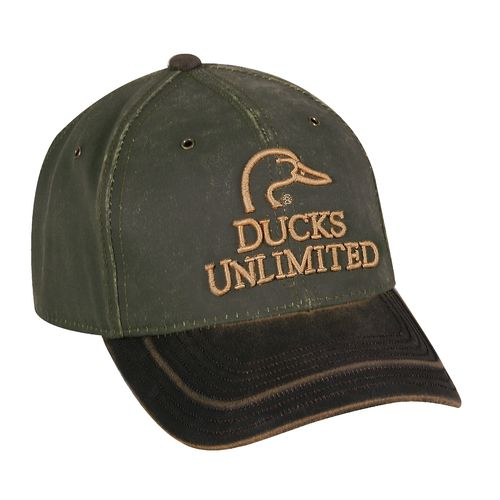 Ducks Unlimited Men's Hard Pigment-Dyed Twill Ball Cap