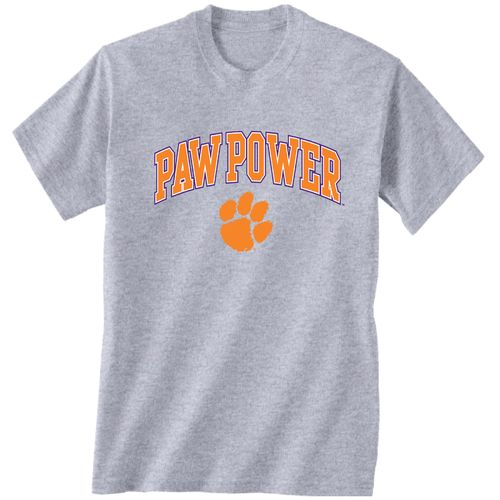 New World Graphics Men's Clemson University Medium Logo T-shirt