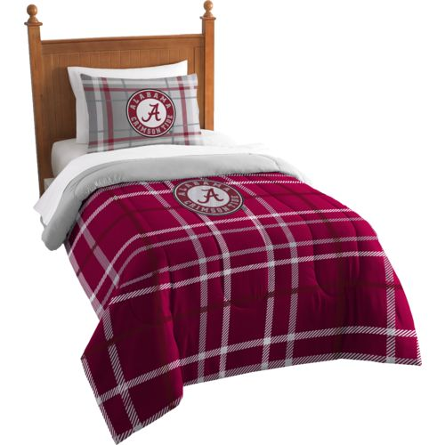 The Northwest Company University of Alabama Twin Comforter and Sham Set