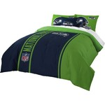 The Northwest Company Seattle Seahawks Full-Size Comforter and Sham Set