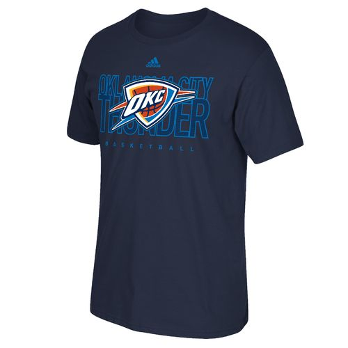 adidas™ Men's Oklahoma City Thunder Energy Stripe Short Sleeve T-shirt