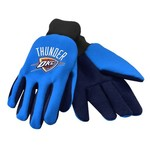 Team Beans Adults' Oklahoma City Thunder 2-Color Utility Gloves