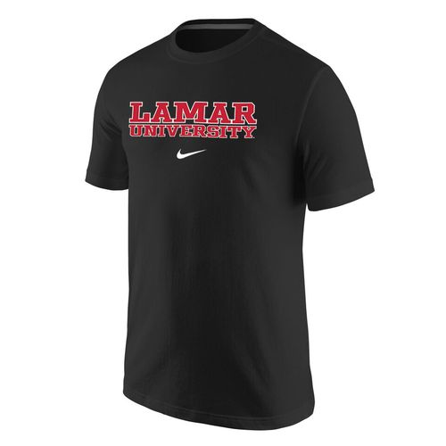 Nike™ Men's Lamar University Cotton Short Sleeve T-shirt - view number 1