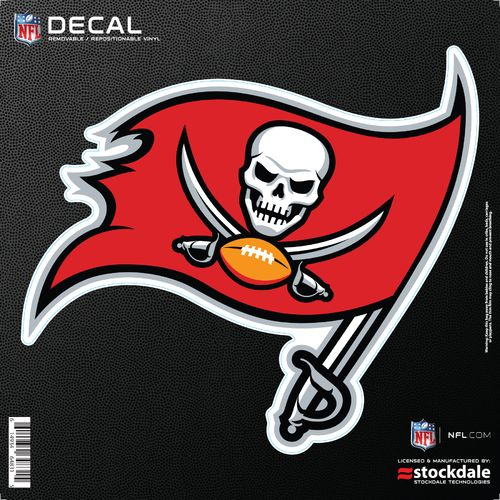 Stockdale Tampa Bay Buccaneers 6' x 6' Decal
