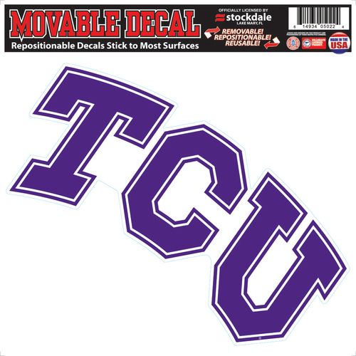 Stockdale Texas Christian University Single Logo Decal