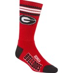 For Bare Feet Adults' University of Georgia 4-Stripe Deuce Socks