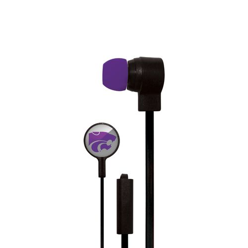 Mizco Kansas State University Big Logo Earbuds