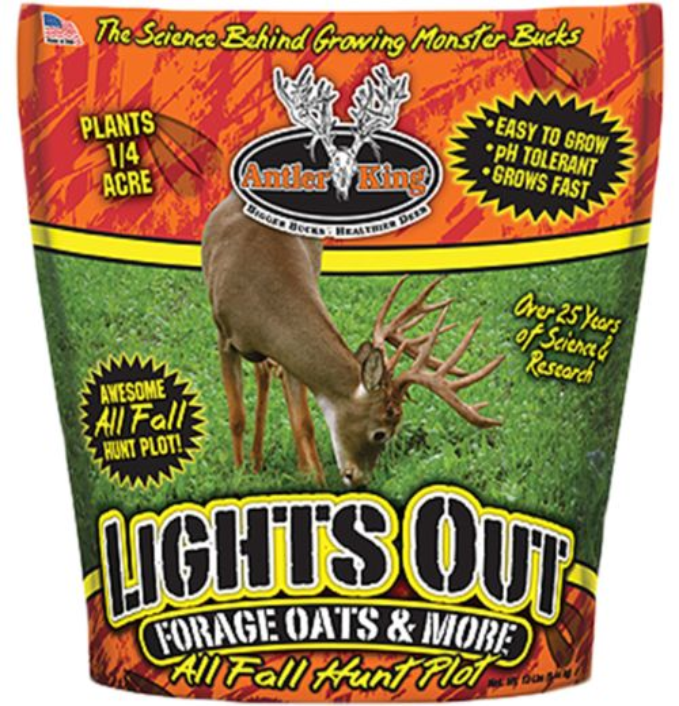 Antler King Lights Out 12 lb. Forage Oats