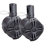 "Power Acoustik 500W Marine-Grade 6-1/2"" Wake Tower Enclosure and Speakers (Pair)"