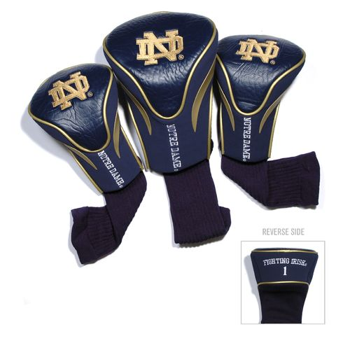 Team Golf University of Notre Dame Contour Sock Head Covers 3-Pack - view number 1