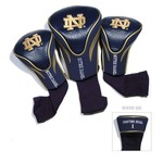 Team Golf University of Notre Dame Contour Sock Head Covers 3-Pack