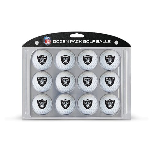 Team Golf Oakland Raiders Golf Balls 12-Pack