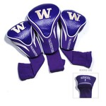 Team Golf University of Washington Contour Sock Head Covers 3-Pack