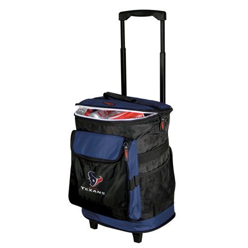 Logo Houston Texans Rolling Cooler