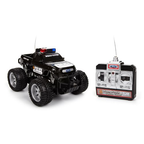 World Tech Toys Licensed Ford F-150 RC Police Truck