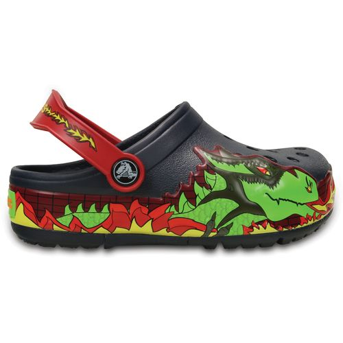 Crocs™ Kids' CrocsLight Fire Dragon Clogs