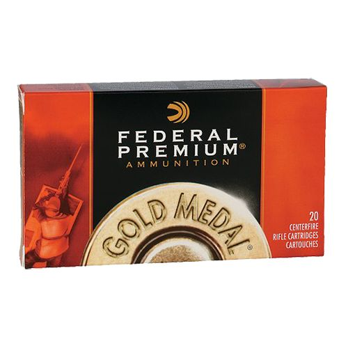 Federal Premium® Gold Medal Centerfire Rifle Ammunition