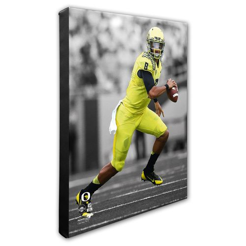 Photo File University of Oregon Marcus Mariota Stretched Canvas Photo